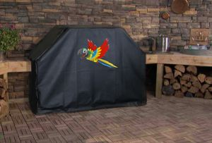 Flying Parrot Logo Grill Cover