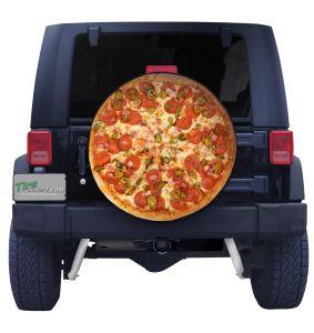 Pepperoni Pizza Tire Cover