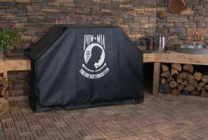 U.S. POW MIA Logo Grill Cover