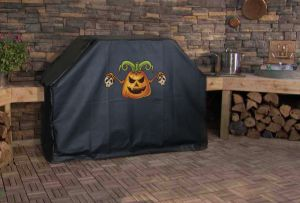 Pumpkin Skulls Custom Grill Cover