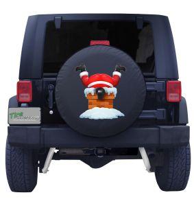 Santa Claus Tire Cover