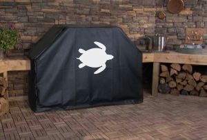 Sea Turtle Custom Grill Cover