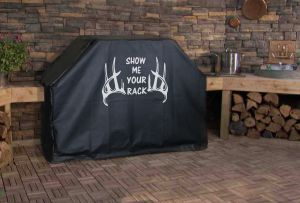 Show Me Your Rack Logo Grill Cover