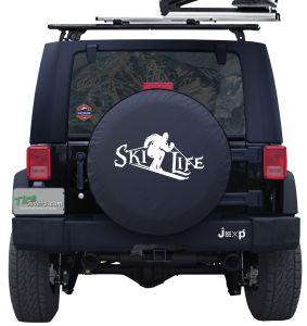 Ski Life Custom Tire Cover