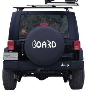 Snowboard Custom Tire Cover Jeep Rubicon