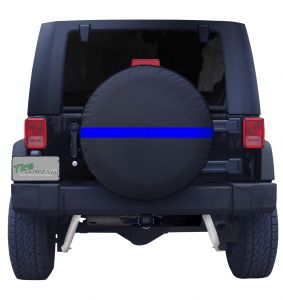 Back the Blue Thin Blue Line Front