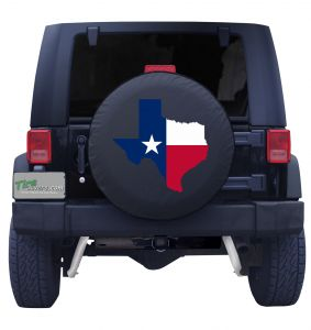 Texas Lone Star Spare Tire Cover