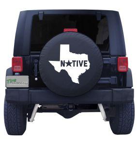 Texas Native Tire Cover