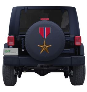 Army Bronze Star Medal All Tire Cover