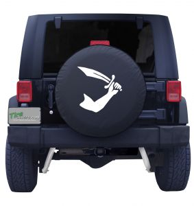 Thomas Tew Pirate Flag Tire Cover