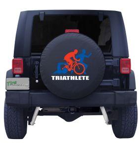 Triathlete Tire Cover