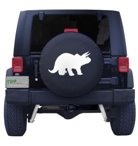 Triceratops Dinosaur Tire Cover