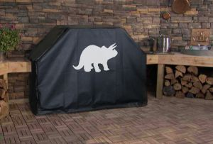 Triceratops Logo Grill Cover