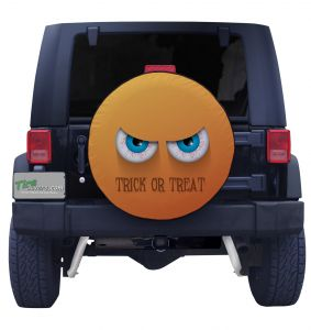 Trick or Treat Eyes Tire Cover