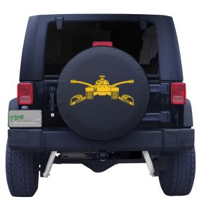 United States Army Armor Tank Tire Cover