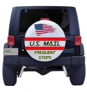 US Mail Color Tire Cover