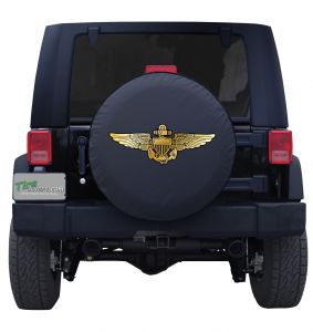 US Naval Aviator Wings Tire Cover