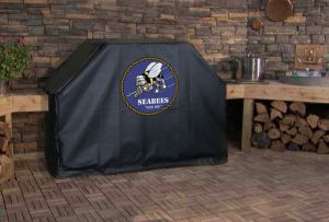 U.S. Navy Seabees Logo Grill Cover