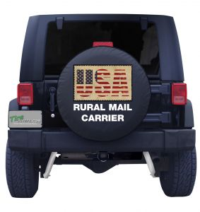 Rural Mail Carrier Tire Cover