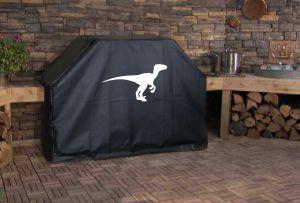 Velociraptor Logo Grill Cover