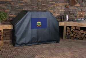 Vermont State Flag Logo Grill Cover