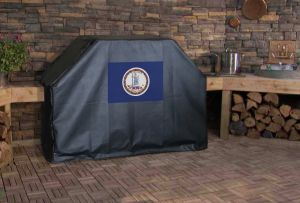 Virginia State Flag Logo Grill Cover