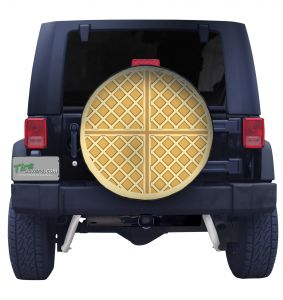 Waffle Tire Cover