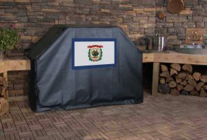 West Virginia State Flag Logo Grill Cover