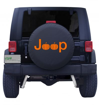 Jeep Pumpkin Tire Cover