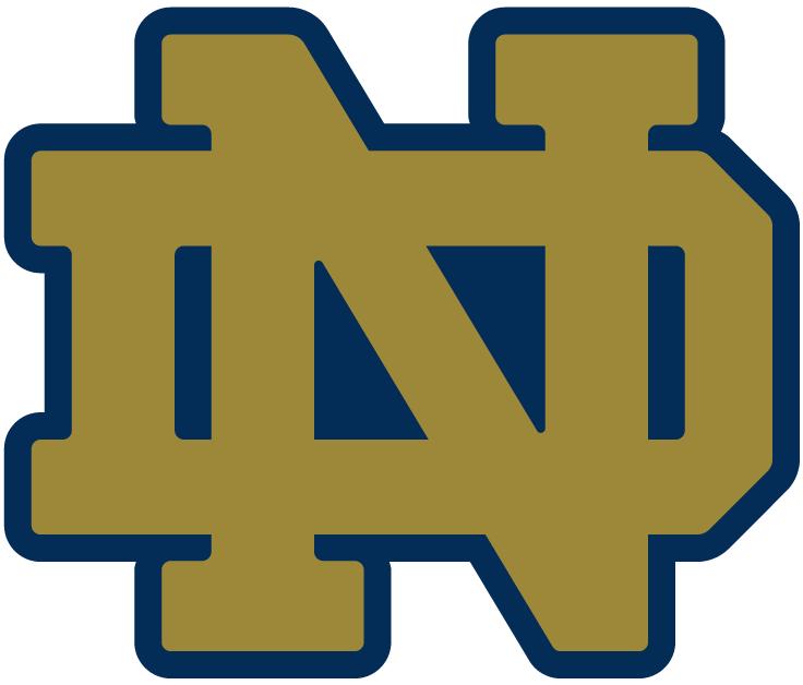 University of Notre Dame Block ND Logo