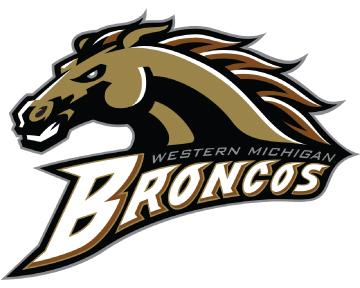 Western Michigan University Bronco Logo