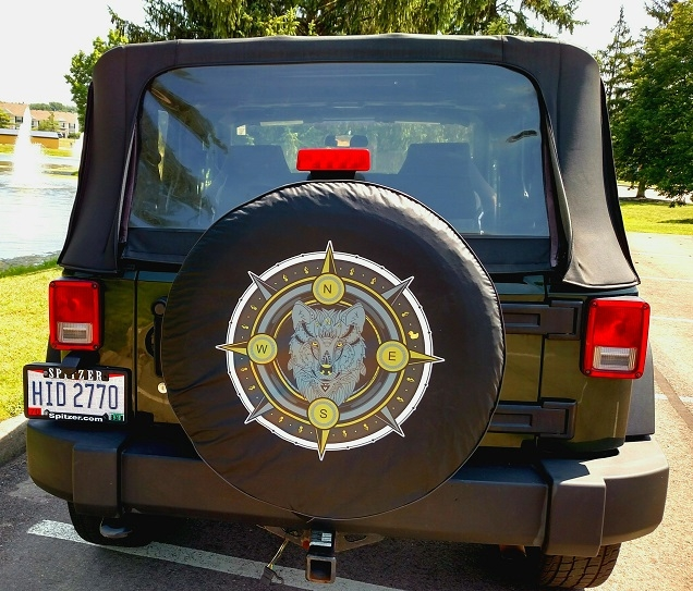 one of a kind tire covers