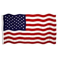 Jeep Paw American Flag
