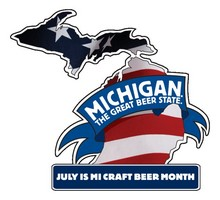 Pure Michigan Craft Beer Month Logo