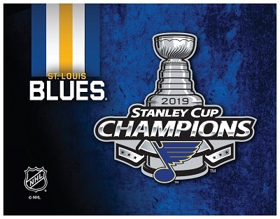 2019 St. Louis Blue Stanely Cup Champions