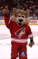 Arizona Coyotes Howler the Mascot