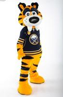 Buffalo Sabres Sabertooth Mascot