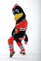 Chicago Blackhawks Tommy Hawk Mascot