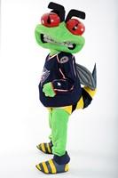 Columbus Blue Jackets Stinger Mascot