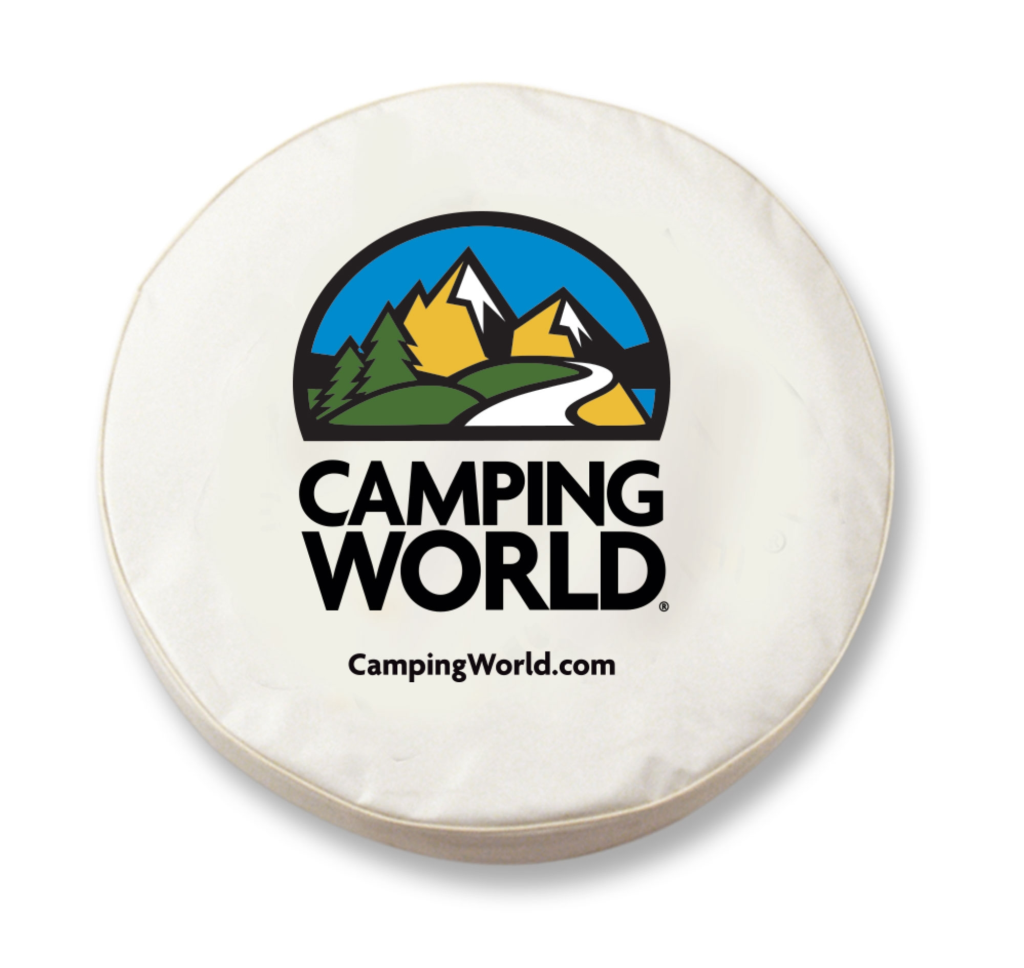 Camping World Dealer Imprint Tire Cover