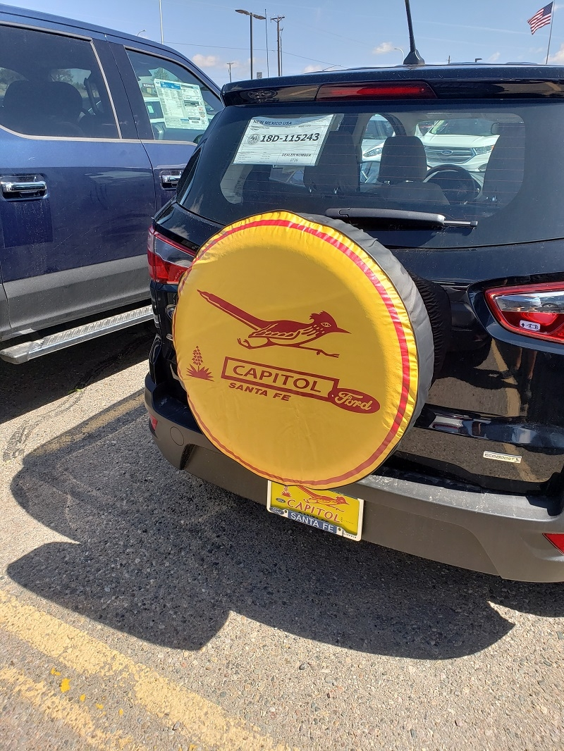 Dealership Imprint tire covers